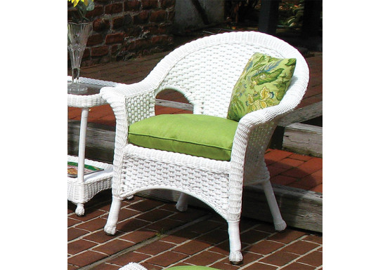 Sunbrella Fabric Wicker Chair Cushion   Sunbrella Fabric Wicker Chair  Cushion