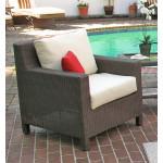 Caribbean Resin Wicker Chair  - COFFEE