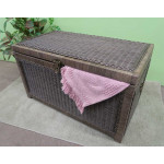 Wicker Trunk for Storage (Large) - CHARCOAL