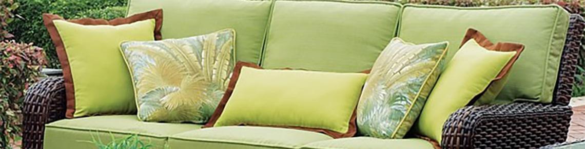 Outdoor Wicker Sofa